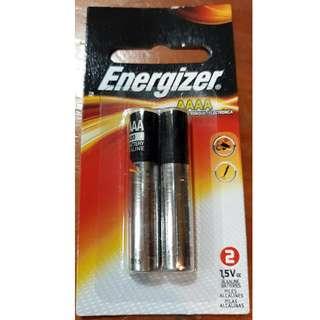 Energizer Alkaline Batteries, AAAA, 2 Batteries/Pack