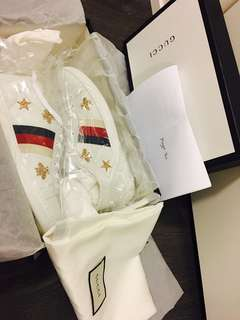 GUCCI ACE SNEAKER WITH BEES AND STARS SIZE 36 - BRAND NEW ❤️