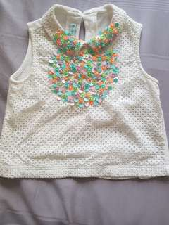 Girl Gingersnaps top