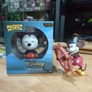 DISNEY Mickey mouse dorbz + loose vinyl figure