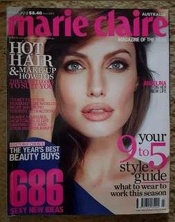 Angelina Jolie - Marie Claire Aust Mar 12