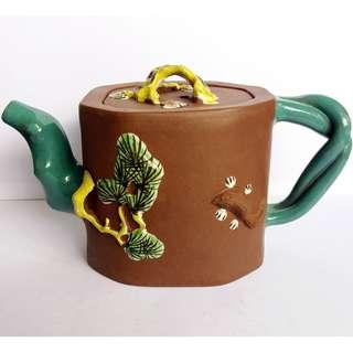 * 011 * ROC Chinese Yixing Zisha Teapot 民国宜兴紫砂茶壶