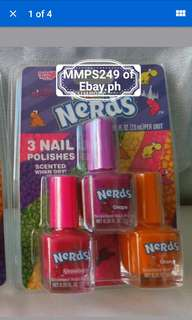 NERDS SCENTED NAIL POLISH FROM USA