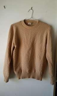 Beige knit jumper