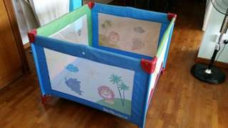 Play Pen (used less than a year; bless with walker-used)