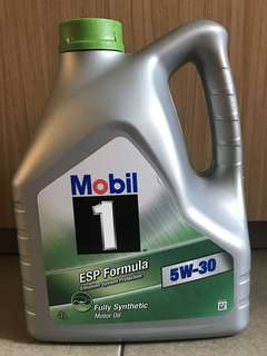 Mobil 1 Engine Oil and Oil Filter