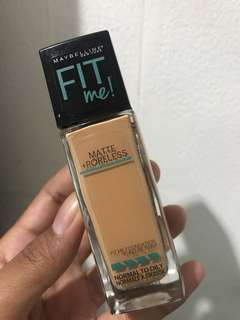 Maybelline Fit Me Matte Poreless Shade 322