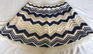 Aje beaded skirt, size 10-12