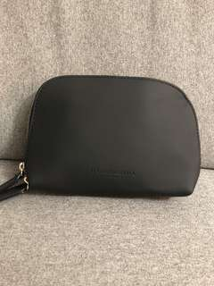 Authentic Burberry makeup bag filled with high end samples