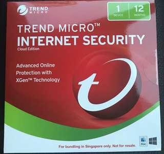 TM Internet Security 1PC 12 Months