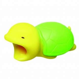 日本直送 全新正版 Dreams Cable Bite for IPhone 超可愛動物 USB保護套  烏龜 turtle