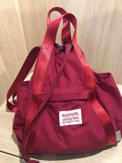 Rootote 背囊 backpack 實用袋