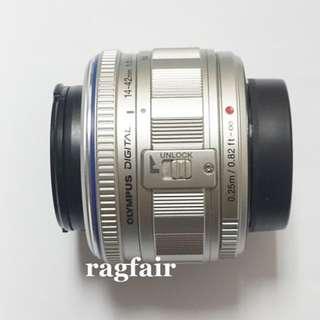 Olympus M.ZUIKO DIGITAL 14-42mm F3.5-5.6 銀色變焦鏡頭 GF7 GF9 GF8 GM1 GM5 EM10 EPL7 E-PL8 GX85
