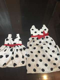 Sisters twinning dress