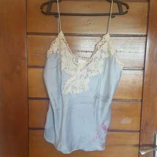 La perla Maison Lace-trimmed Camisole