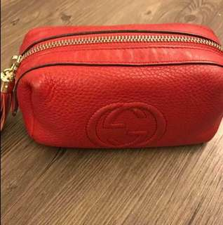 Authentic Gucci Soho Pouch