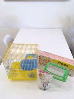Complete Hamster Cage