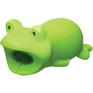 日本直送 全新正版 Dreams Cable Bite for IPhone 超可愛動物 USB保護套 青蛙 Frog
