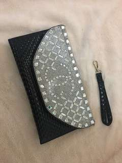 Diamond-studded Handbag | Channel Inspired