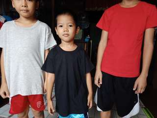 basic roundneck tshrt for kids