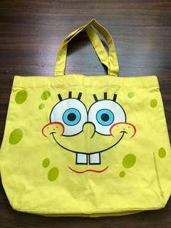 Sponge Bob Tote Bag