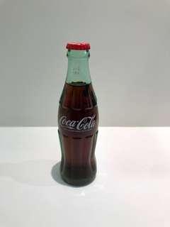Coca Cola 可口可樂 珍藏玻璃樽 經典玻璃瓶192ml 紀念收藏品 可樂迷必儲!