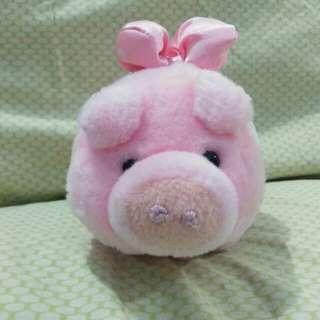 Boneka Babi Pita Pink (ex. Kado)