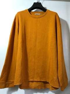 ZARA TRAFALUC Oversized fleece sweater