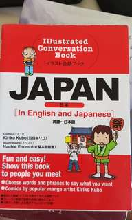 Learn Japanese in English (Illustrated Conversation Book)