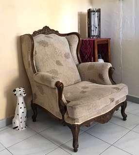 Beautiful Victorian Luxury Single Armchair