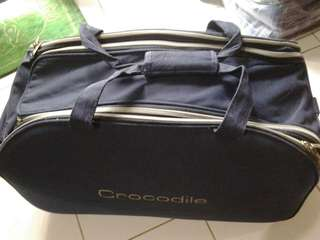 Crocodile travel bag