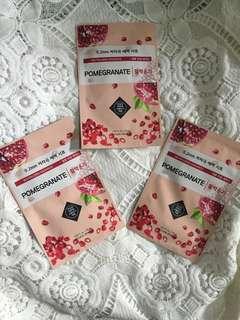 Authentic Etude House Masks (Pomegranate)