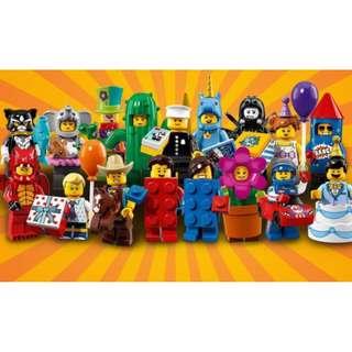 現貨 LEGO 樂高 71021 第18代人偶包(不含警察)
