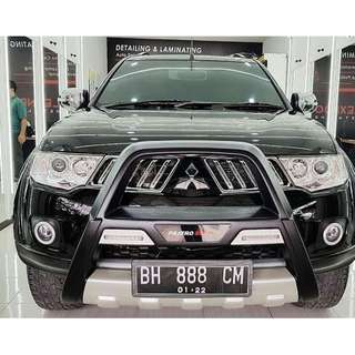 Mitsubishi Pajero Sport after laminating nano ceramic
