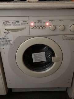 惠而浦 洗衣機 Whirlpool wash machine