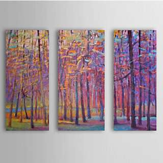 Bamboo Oil Painting- 3panel