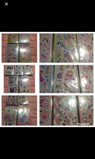 Instock kids stickers brand new ideal for goodies bag items .. bulk purchase pls pm me