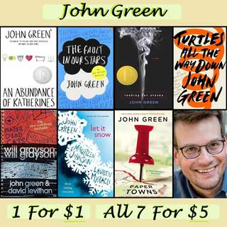 John Green eBooks
