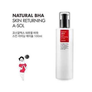 NETT COSRX NATURAL BHA SKIN RETURNING A-SOL
