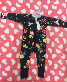 Intergalactic Bouquet Black Wondersuit