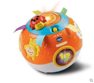 Bilingual / Vtech toy for learning to crawl