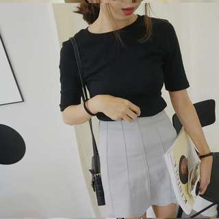 (ReadyStock) Basic Round Neck Top (Free Mailing)