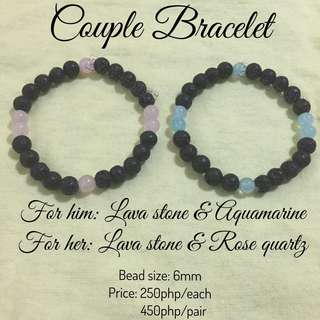 Gemstones Bracelets - Couple bracelet