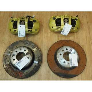 BMW E92 PERFORMANCE FRONT CALIPERS (6 POTS) WITH DISS