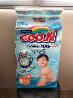 Goon L tape diaper