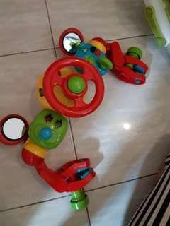 Mainan Setir untuk di stroller ELC Buggy Driver