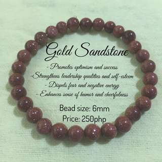 Gemstones Bracelets - Gold Sandstone