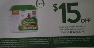 Looking for similac organic stage 2 voucher