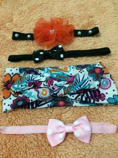 Paket HEADBAND bayi Mix B