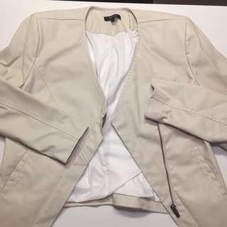 Off-White Pleather Jacket
